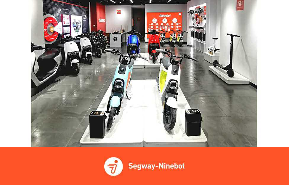Ninebot is Overtaking! 199+ 5G Smart Retail Stores Are Opened in China