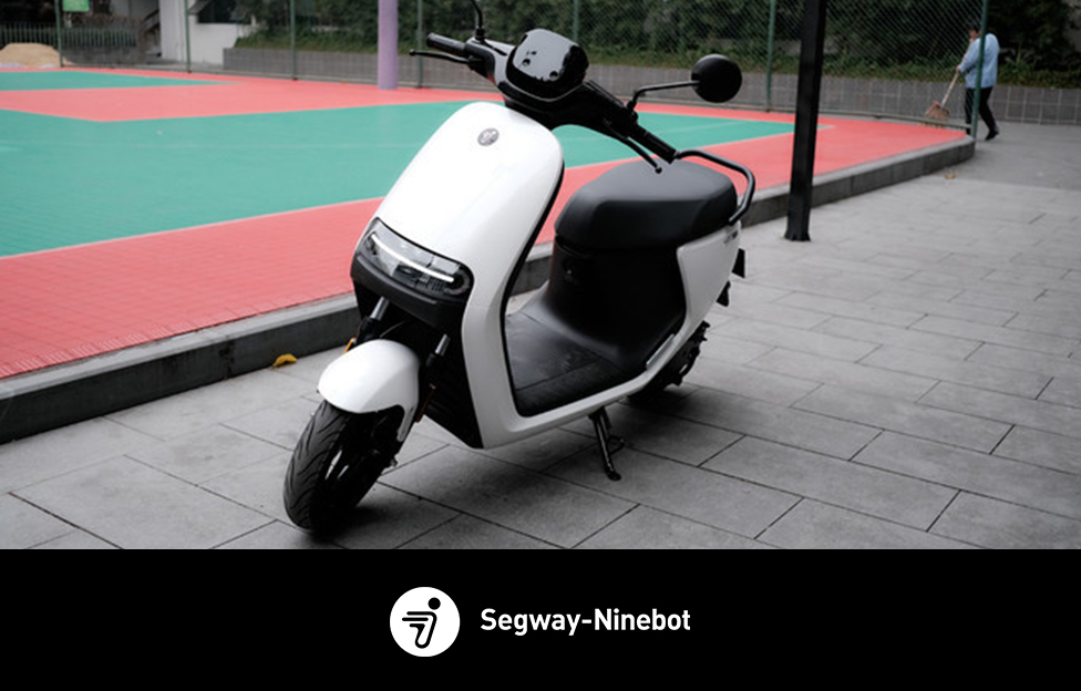 Ninebot eScooter E100:Good-looking and intelligent